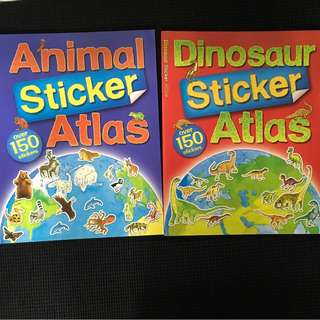 Animal & Dinosaur Stickers Book