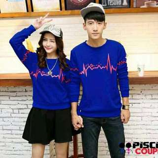 Sweater lengan pnjang couple