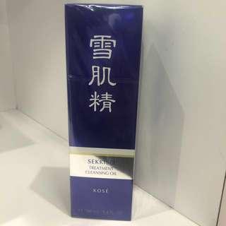 BN Sekkisei treatment cleansing oil 160ml