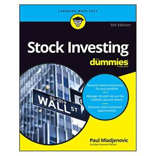 Stock Investing For Dummies (For Dummies (Business & Personal Finance)) 5th Edition BY Paul Mladjenovic (Author)