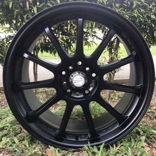 18in PCD 5-114.3 Super Lightweights Rims On Sale