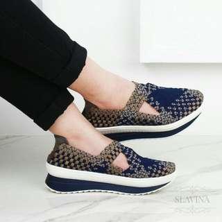 Sepatu Wedges Msc