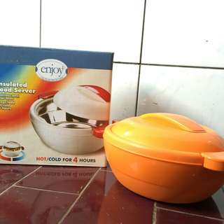ENJOY (Insulated Food Server Size Small)