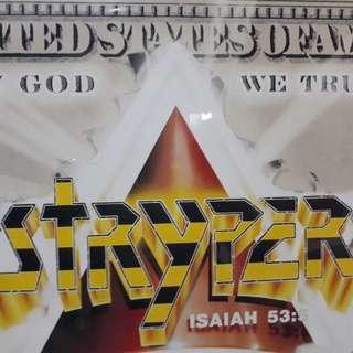 Sealed LP Stryper- In God We Trust