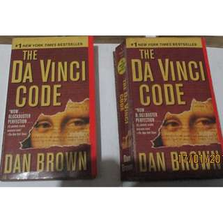 Dan Brown Da Vinci Code , Paperbacks, Preloved Book/Books, Softbound