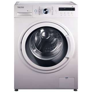 Tecno TFL8012   8kg frontload wide door washer 1200rpm.1 Year Warranty by Tecno.PSB Safety Mark Apprpved.