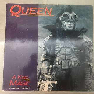 "Queen ‎– A Kind Of Magic (Extended Version), 12"" Single Vinyl, EMI ‎– 12 QUEEN 7, 1986, UK"