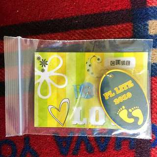 PAYA LEBAR METHODIST GIRL SCHOOL PL Lite 2010 Keychain