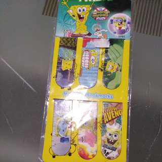 Spongebob Magnetic Bookmark