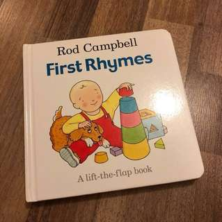 Clearance! Rod Campbell First Rhymes