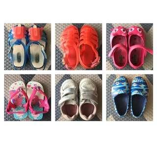 Mini Melissa, Havaianas, Native, Next shoes