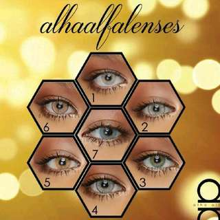 READY STOCK💕ALHA ALFA SOFT CONTACT LENSES.  Processing Proceed Upon Full Payment Received Via Bank Transfer