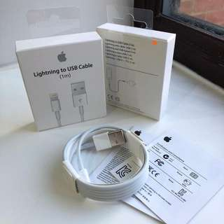 Apple Lightning Cable 100% Authentic , Free mail