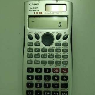 Canon fx-3650p calculator 計數機 HKEAA Approved