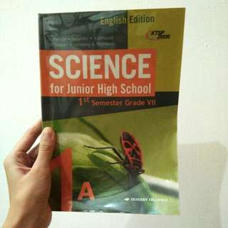 SCIENCE ENGLISH EDITION for Junior High School 1A (1st term grade 7)