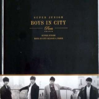 Super junior boys in the city 4 (premium package)