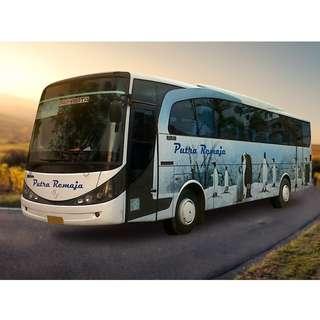 Tersedia tiket bus murah rute Jogja - Jambi dan sebaliknya hanya di Nemob.