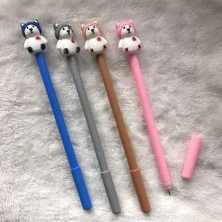 12 pcs. Bear gel pens