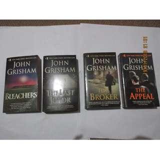 John Grisham Paperbacks, Preloved Book/Books, Softbound