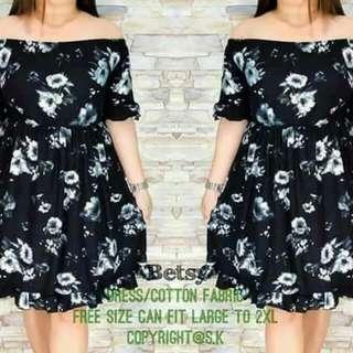 Betsy Plus Size Off shoulder Dress