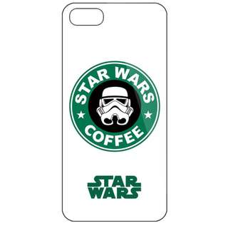 Starwars Starbuck Coffee Hard PC Case Cover Iphone 5 5s 6 6s