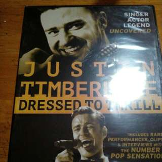 Justin Timberlake Dressed to Thrill