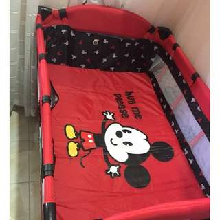 Mickey Mouse Baby Cot