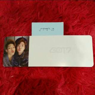 Got7 Flight log departure flight ticket youngbam Youngjae+ Bamban