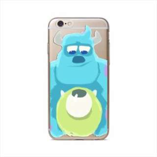 Thin Clear Soft TPU Rubber Case Cover iphone 6 6s 6+ 6s plus disney