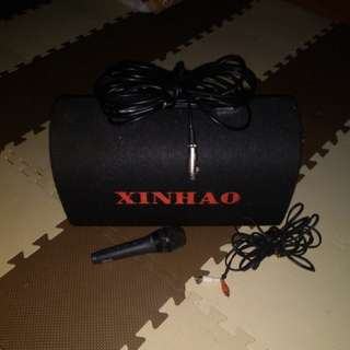 xinhao speaker with microphone