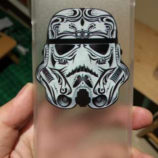 Clear pattern hard back Case Cover iPhone 6 / 6 plus Star Wars