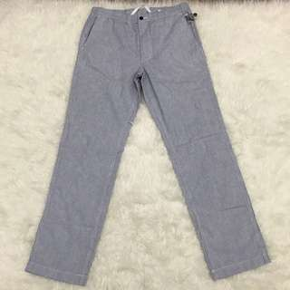 Preloved Uniqlo Relaxed striped smart pants