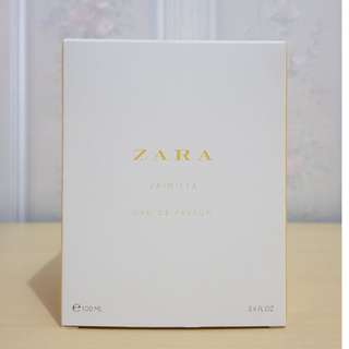 ZARA VAINILLA EDP LEATHER COLLECTION