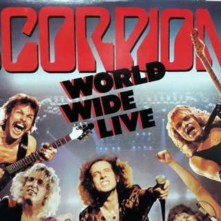 Double Vinyl LP Scorpions World Wide Live
