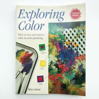 Book: Exploring Color: How to Use and Control Color in Your Painting