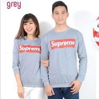 Sweater lengan panjang couple