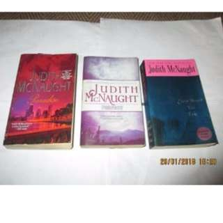Judith McNaught Paperbacks, Preloved Book/Books, Softbound
