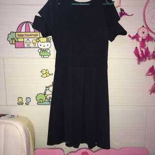 DRESS HITAM BANGKOK PREMIUM QUALITY