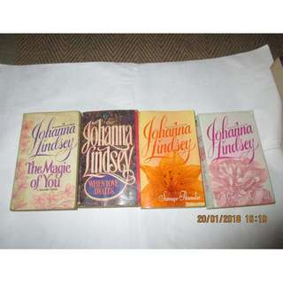 Johanna Lindsey Paperbacks, Preloved Book/Books, Softbound