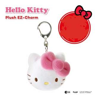 HELLO KITTY EZ LINK CHARM PLUSH LIMITED EDITION