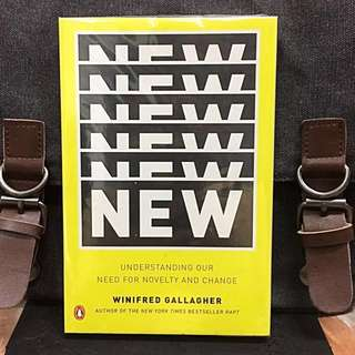 《New Book Condition + How To Help Us Learn, Create, And Adapt To New Things That Have Real Value & Dismiss The Rest As Distractions.》Winifred Gallagher - NEW : Understanding Our Need for Novelty and Change