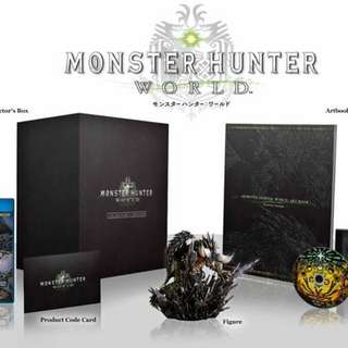 Ps4 Monster Hunter World Collector's Edition