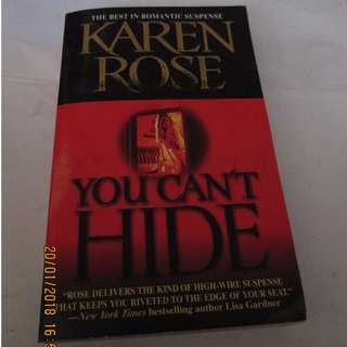 Karen Rose Paperbacks, Preloved Book/Books, Softbound