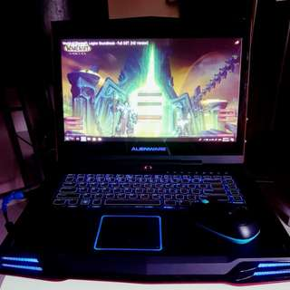 Alienware Dell M15X Core i7 8 Gb Ram 500GB