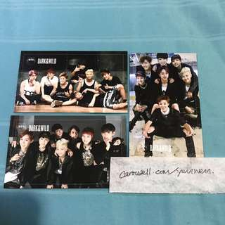 BTS Dark and Wild Official Group Photocards