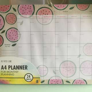 Paper Stone A4 Planner (Monthly)