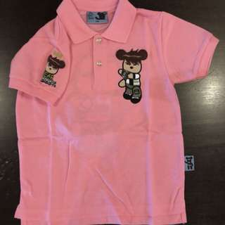 Boy Collar Shirt Pink (Ben 10)