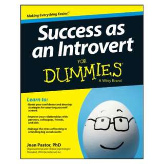Success as an Introvert For Dummies BY Joan Pastor