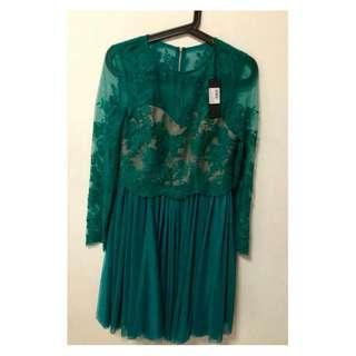 Branded Lace Dress