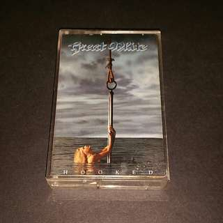 Great white (hooked) cassette rock